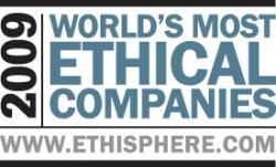 Ricoh беше избран за една от Най-Етичните Световни Компании на 2009 година